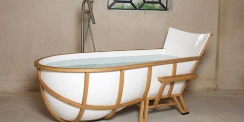 Ambachtelijke badkuip - Badkuip ontwerp ...
