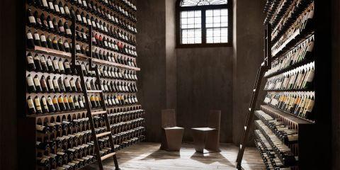 Verander iedere kamer in een wijnkelder dankzij dit luxe wijnrek - Een kamer regelen ...